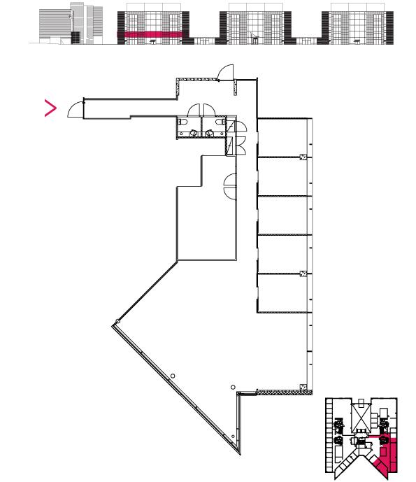 Pohjakuva Polaris Capella 2. krs. 212 m2